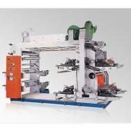 Высокоскоростная четырехцветная флексографическая печатная машина