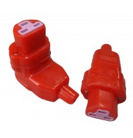 Вилка силиконовая штепсельная  (тип I3)