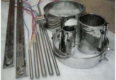 Обогрев патронный (диам.25mm, L435mm, 220V, 1000W)
