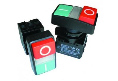 Кнопка старт/стоп с индикатором диаметр 22 мм