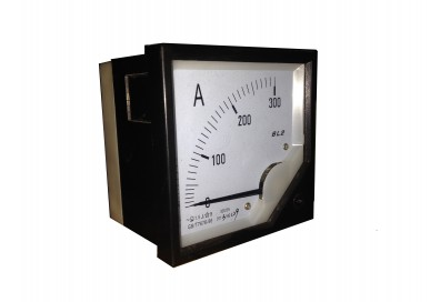 Амперметр 80*80 (0-300)